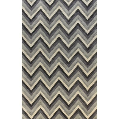 Ashland Grey Area Rug Rug Size: Rectangle 36 x 56