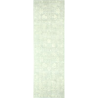 Arlingham Silver Area Rug Rug Size: 76 x 96