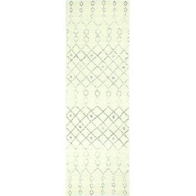 Arlingham Ivory Area Rug Rug Size: Runner 26 x 8