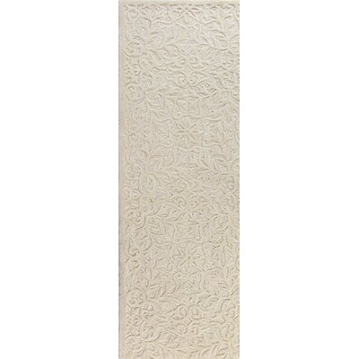 Naomi Tufted Wool Area Rug Rug Size: Runner 26 x 8