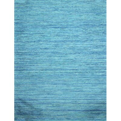 Shepherd Hand Woven Blue Area Rug Rug Size: Rectangle 59 x 89