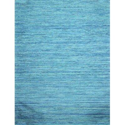 Bohemian Blue Area Rug Rug Size: 76 x 96