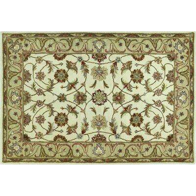 Punjab Ivory Area Rug Rug Size: 5 x 76