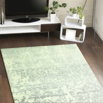 Arlingham Ivory/Grey Area Rug Rug Size: 86 x 116