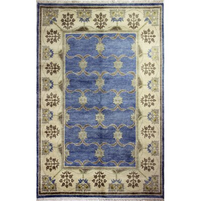 Charleston Light Blue Area Rug Rug Size: Rectangle 59 x 89