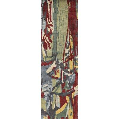 Ashland Multi-color Area Rug Rug Size: Runner 26 x 8