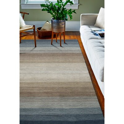 Fulham Hand-Woven Wool Area Rug Rug Size: Rectangle 76 x 96