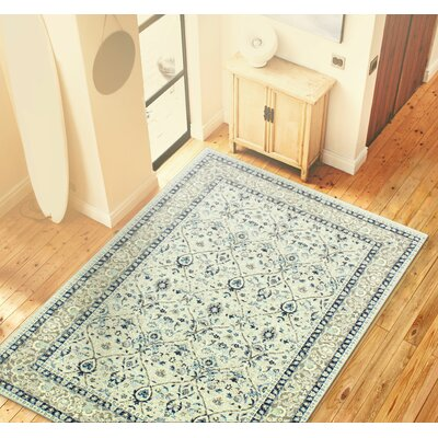 Caton Silver Area Rug Rug Size: 8'7