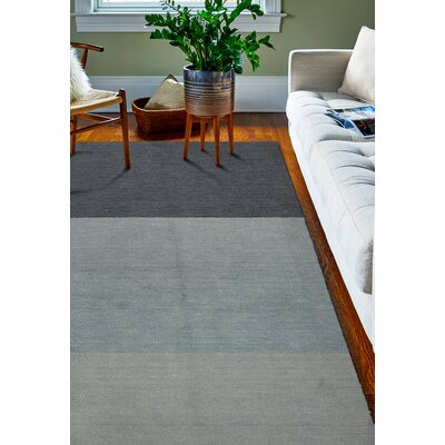 Fulham Blue Area Rug Rug Size: 36 x 56
