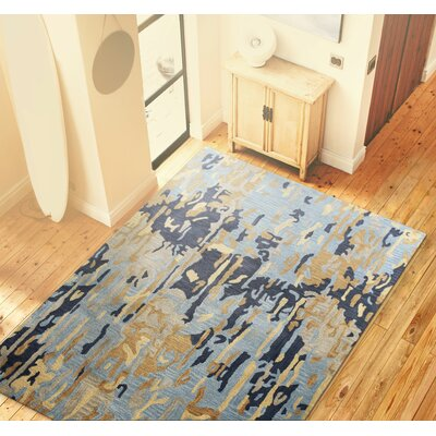 Ashland Blue Area Rug Rug Size: 36 x 56