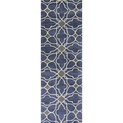 Ashland Azure Rug Rug Size: Runner 26 x 8