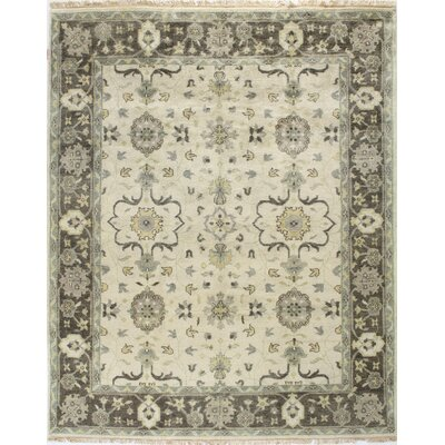 Charleston Ivory Area Rug Rug Size: Rectangle 78 x 97