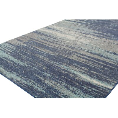 Heilman Blue Area Rug Rug Size: 5 x 76