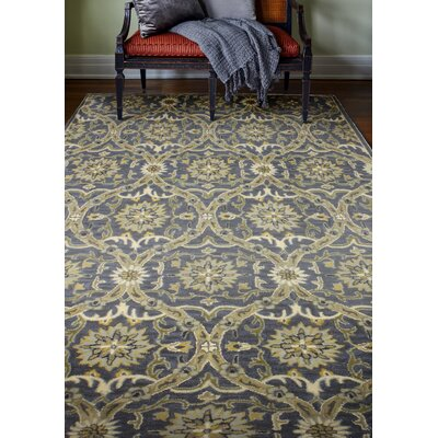 Bessie Hand-Tufted Wool Blue Area Rug Rug Size: 6 x 9