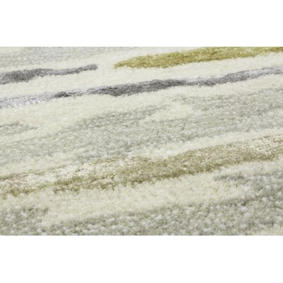Galle Hand-Tufted Silver Area Rug Rug Size: Rectangle 6 x 9