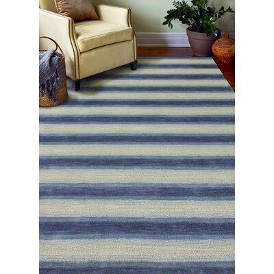 Arndt Hand-Woven Slate Area Rug Rug Size: 8 x 10