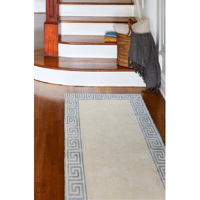 Sussex Ivory Rug Rug Size: Runner 26 x 8