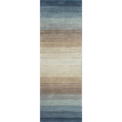Fulham Hand-Woven Wool Area Rug Rug Size: Runner 26 x 8