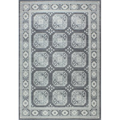 Fiora Gray Area Rug Rug Size: Rectangle 5 x 76