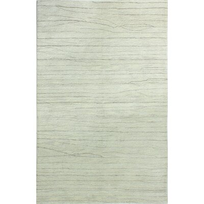 Dynes Hand-Tufted Silver Area Rug Rug Size: Rectangle 36 x 56