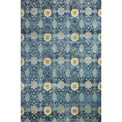 Fidela Navy Area Rug Size: Rectangle 36 x 56