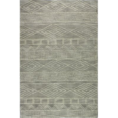 Drihmi Hand Tufted Wool Taupe Area Rug Size: Rectangle 86 x 116