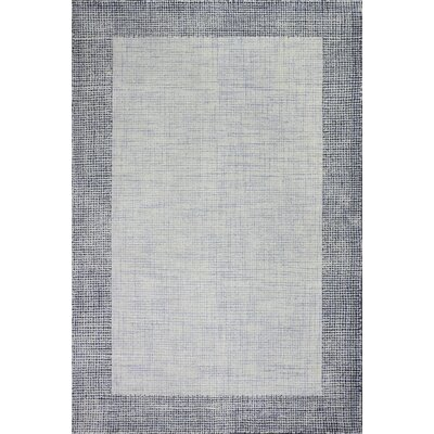 Bryden Hand Tufted Wool Ivory/Gray Area Rug Size: Rectangle 76 x 96