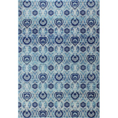Arlingham Gray/Blue Area Rug Size: Rectangle 36 x 56