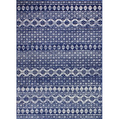 Arlingham Dark Blue Area Rug Size: Rectangle 36 x 56