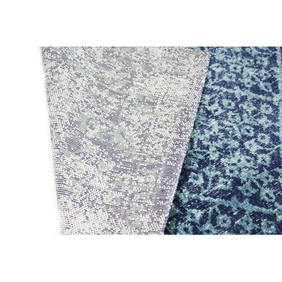 Ashburn Navy Area Rug Size: Runner 26 x 8
