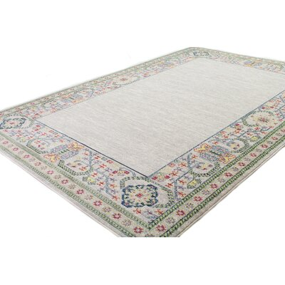 Goldie Ivory Area Rug Rug Size: Rectangle 6 4 x 8