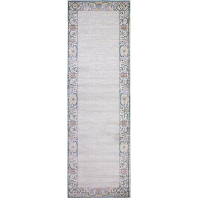Goldie Ivory Area Rug Rug Size: Runner 27 x 8