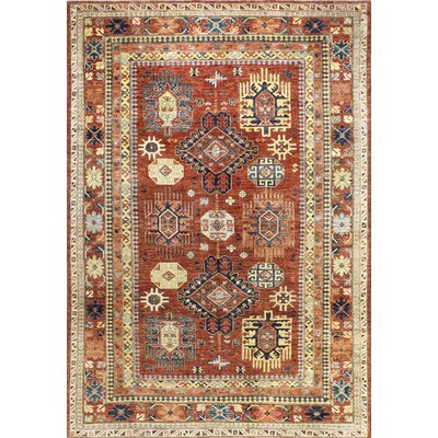 One-of-a-Kind Harrop Hand Woven Wool Beige/Rust Area Rug