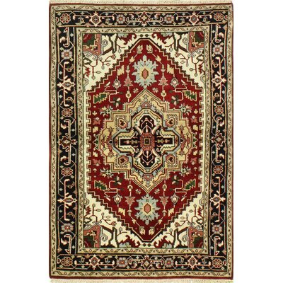 One-of-a-Kind Hartranft Hand Woven Wool Rust/Beige/Brown Area Rug