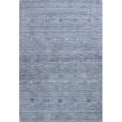 One-of-a-Kind Hartzler Hand Woven Wool Gray Area Rug
