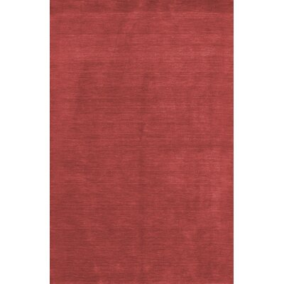 Fulham Red Area Rug Rug Size: 76 x 96