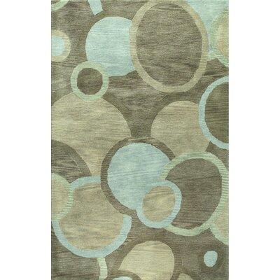 Ashland Grey Rug Rug Size: 76 x 96