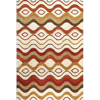 Ashland Ivory Area Rug Rug Size: 76 x 96