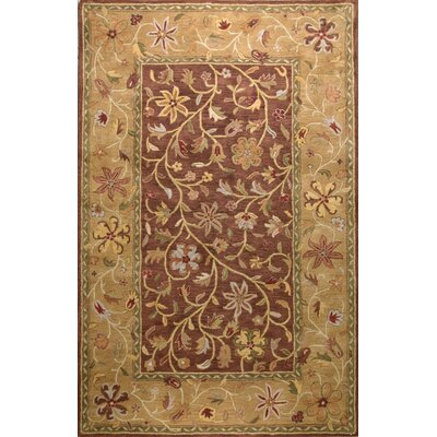Essex Chocolate Area Rug Rug Size: 56 x 86