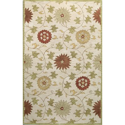 Essex Ivory Area Rug Rug Size: 39 x 59