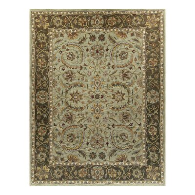 Charlton Light Green Ambiance Area Rug Rug Size: 59 x 89