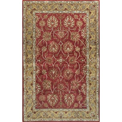 Essex Red Area Rug Rug Size: Runner 2'6