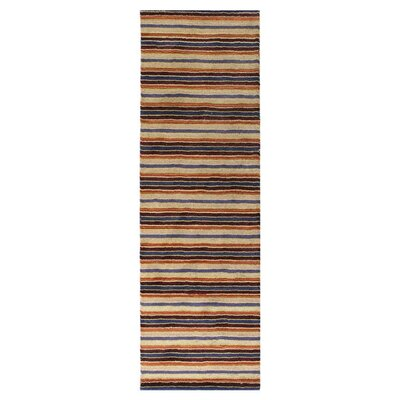 Fulham Striped Area Rug Rug Size: Runner 26 x 8