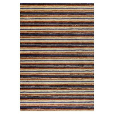 Fulham Striped Area Rug Rug Size: Rectangle 5 x 76