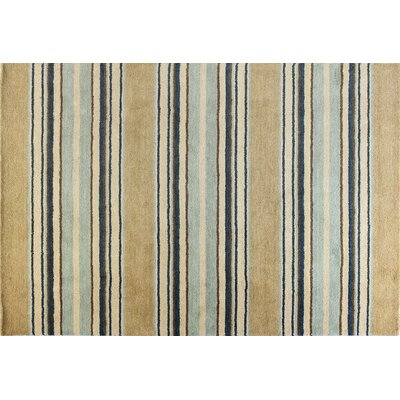 Fulham Light Blue Area Rug Rug Size: Rectangle 36 x 56