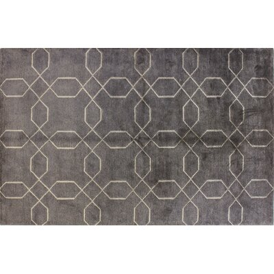 Sussex Pewter Rug Rug Size: 39 x 59
