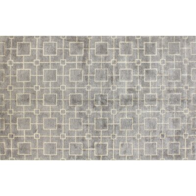 Sussex Platinum Rug Rug Size: 39 x 59