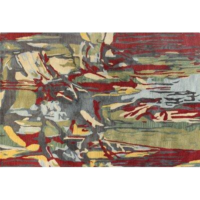 Ashland Multi-color Area Rug Rug Size: 76 x 96