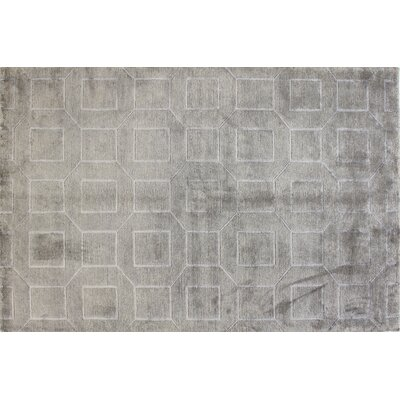 Sussex Platinum Rug Rug Size: 59 x 89