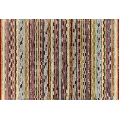 Ashland Multi-color Area Rug Rug Size: Runner 26 x 8